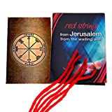 5Kabbalah Rote Schnur Armbänder Blessed In Jerusalem mit King Solomon Profusion Dichtung Dichtung Amulett