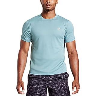 Mission Men's VaporActive Alpha Short Sleeve Athletic Shirt, Citadel, Large (B06XGXB7RM) | Amazon price tracker / tracking, Amazon price history charts, Amazon price watches, Amazon price drop alerts