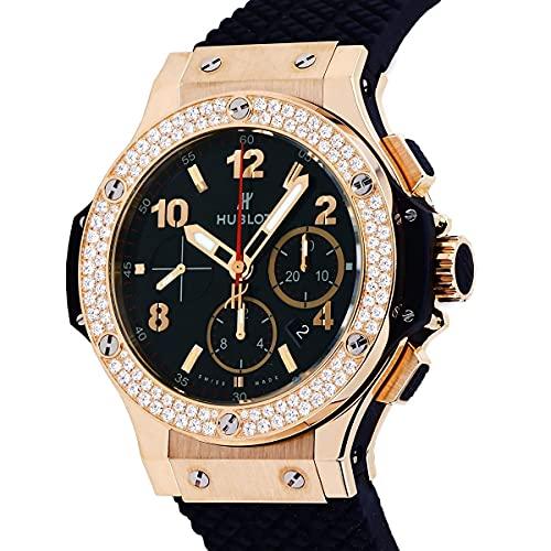 【ディスカウントストア】(ウブロ) ゴールド ベゼルダイヤ 301.PX.130.RX.114 ブラック文字盤 腕時計 (W197254) [並行輸入品]