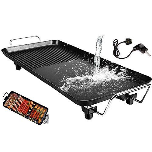 Electric Teppanyaki Grill Table Hot BBQ Plate, Teppanyaki Table Grill, BBQ...