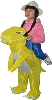 Dinosaur Inflatable Costume Children's Cosplay Halloween Animal Fancy Dress Blow Up Waterproof Polyester Costumes