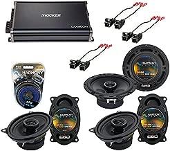 Compatible with Chevy Suburban 1988-1994 OEM Speaker Upgrade Harmony R46 R65 & CXA300.4 Amp (Renewed)