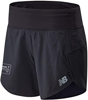 New Balance Women Impact Run Short 3 Inch Shorts Running Black L