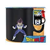 ABYstyle - DRAGON BALL - taza effecto termico- 460 ml - Vegeta