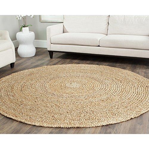 7 feet round area rug - 3