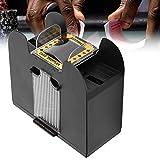 Barajador de cartas, máquina automática con pilas para barajar cartas para póquer de 6 cubiertas
