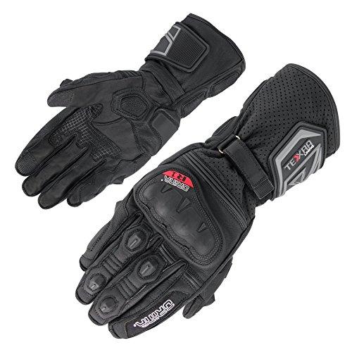 Orina Torres Motorradhandschuhe Sport Herren Leder-Motorrad-Handschuhe mit Carbolex Protektoren und Gigatex Polsterungen (9)