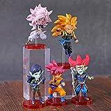 kyman 5 unids/Set 7cm Dragon Ball Figure Heroes Dragonball Z Goku Fighterz 21 Figura Devil Demigra G...
