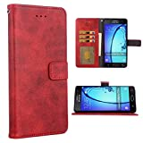 Asuwish Compatible with Samsung Galaxy On5 2015 Wallet Case