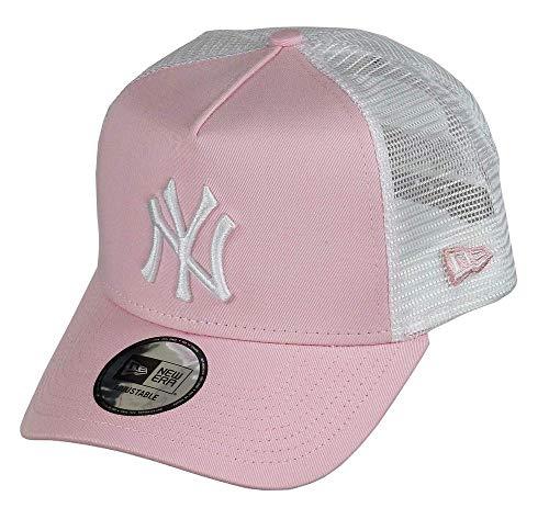 New Era League Essential Trucker 2 Neyyan Gorra, Mujer, Pink, Talla Única