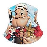 ERGDF Die Po-pe-ye Ultimate Comfort Halswärmer Gesichtsschutz Super Protective Bandana Stirnband...