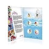 IMPACTO COLECCIONABLES Disney Colección Completa Princesas 01 - 6 Monedas / Medallas Heptagonales 50p, con baño en...