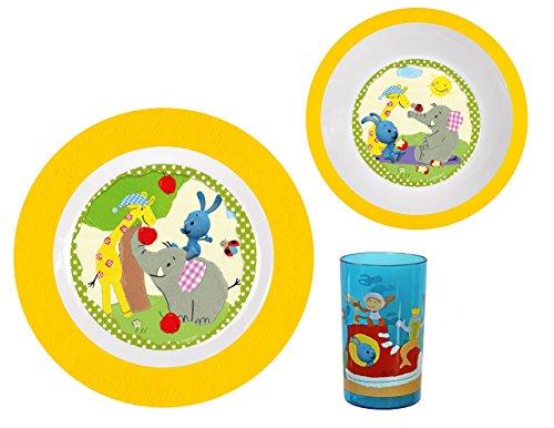 p:os 69742 - Kikaninchen Frühstücksset, 3 teilig