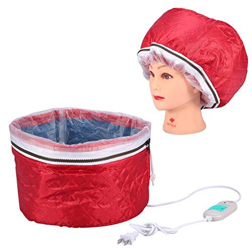 Calentamiento del casquillo de la temperatura que controla la protección del recalentamiento Vapor eléctrico Máscara cap del pelo 220V