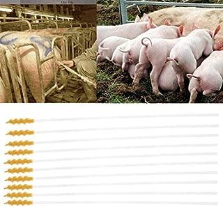 FidgetKute 10pcs Disposable Pigs Sheep Artificial Insemination Breed Catheter Tube Rod