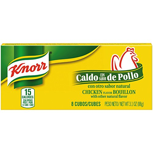 Knorr Cube Bouillon, Chicken, 3.1 oz, 8 ct, Pack of 24