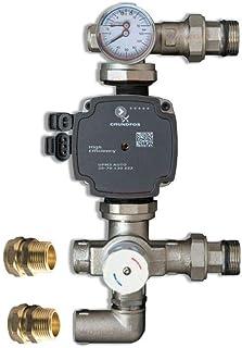 Grundfos Upm3 Pump 25-70 130 with Blending Valve for Underfloor Heating Manifold