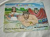 The Miraculous Healing of Naaman - Pinagaling ang Ketong ni Naaman / English - Tagalog Bilingual Bible Story Coloring Book / For Pilipino Children / タガログ語 / フィリピン