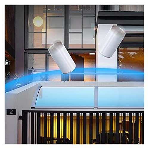 Tejadillo De Protección, Resistencia Al Impacto Marquesina para Puertas Y Ventanas Diseño Arqueado Mecánico Protección UV contra La Lluvia Y La Nieve Cubierta De Policarbonato MAHFEI