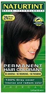 Naturtint Hair Color 2N Black Brown kit ( Multi-Pack) by Naturtint