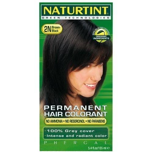 NATURTINT HAIR COLOR 2N BLACK BROWN Recommendation FZ Jacksonville Mall 2 of 5.28 Pack
