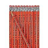 Red Ribbon Week Pencils (set of 24) Drug Free Week Supplies