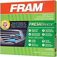 Fram Fresh Breeze Cabin Air Filter with Arm & Hammer Baking Soda, CF10729 for Select Chrysler, Dodge and Jeep Vehicles