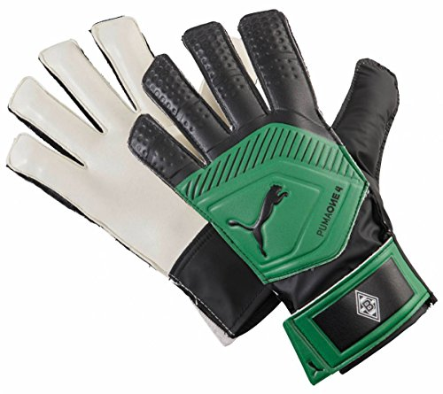 Puma Borrussia Mönchengladbach One Grip 18.4 Torwarthandschuhe Power Green Black, 7