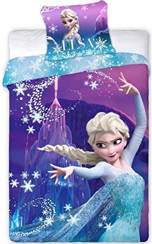 Disney Frozen 2 Juego de Infantil Funda Nordica 140x200 cm, Funda de...