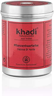 Khadi Tinte Herbal Color Rojo Caoba-Henna 150 gr