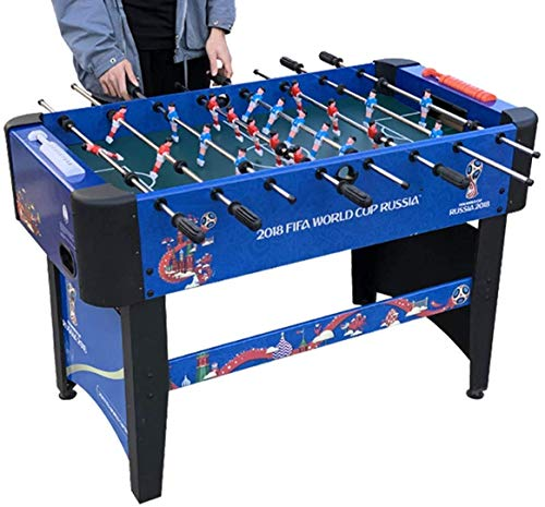 Foosball Table, Indoor Soccer Wood Game Table Competition Sized Multi Person Table Soccer for Adults, Home, Game for Adults and Kids Tabletop Soccer Game ANGANG