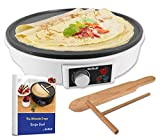30.5cm Electric Pancake & Crepe Maker by StarBlue with Free Recipes e-Book