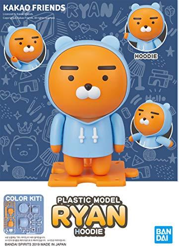 カカオフレンズ ライアン プラモデル KAKAO FRIENDS RYAN PLASTIC MODEL (HOODIE)