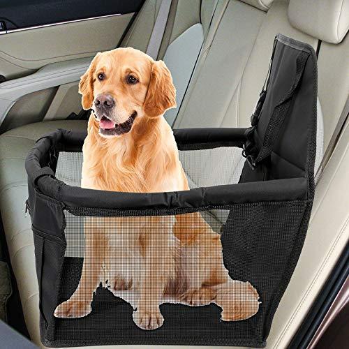 GSDJU Travel Dog Funda de Asiento de Coche Safety Dog Basket Pet...