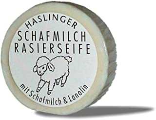 Haslinger Rasierseife - Schafmilch & Lanolin