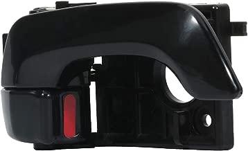 ECCPP Door Handle Interior Inside Inner Front Driver Side for 2006-2010 Kia Optima 2003-2008 Hyundai Tiburon Black