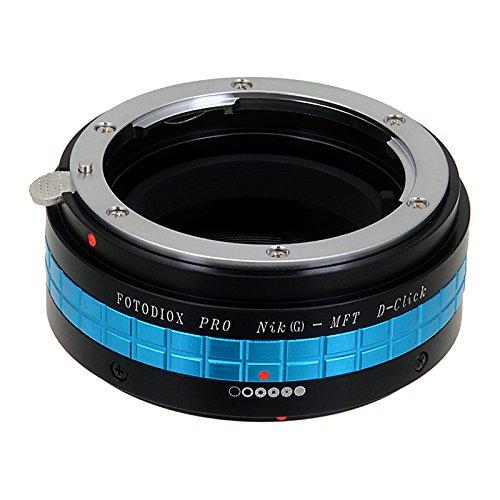 Fotodiox Pro - Adaptador de objetivos Nikon para cámaras Micro 4/3 para Olympus PEN...