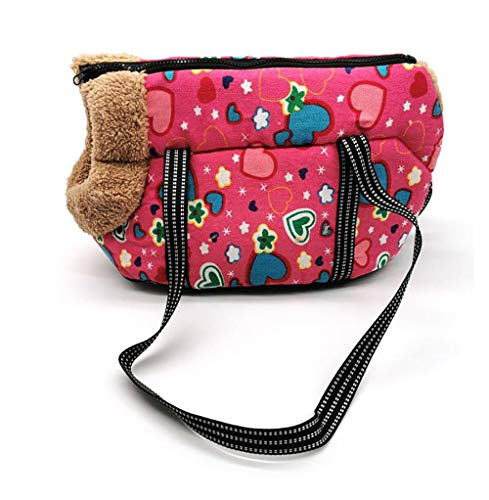 TZ Pet, comfortable and soft dog and backpack, outdoor travel pet small dog messenger bag