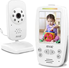Video Baby Monitor with Night Vision Camera and Comfortable Handheld by Axvue, Model E660.