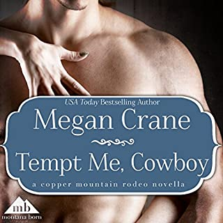 Tempt Me, Cowboy audiobook cover art