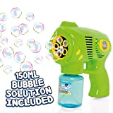 Bubble Mania Bubble Gun - Kids Automatic Bubble Machine - Bubbles Making Toy For Children Aged 3 Years +