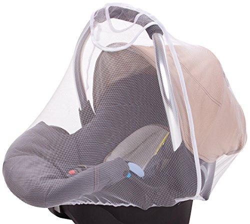 DIAGO Insektenschutz Babyschale, weiß