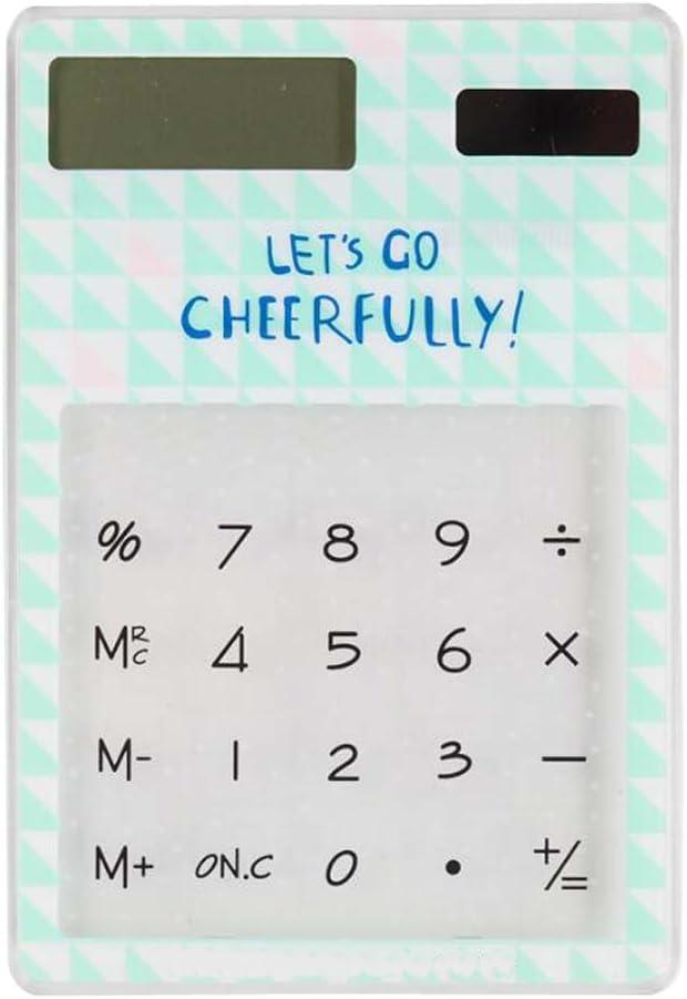 Eco-Friendly Solar Calculators Fashion Office Supplies Calc Nashville-Davidson Spring new work Mall Mini