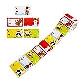 500 Pegatinas Navideñas Etiquetas Adhesivas Navidad Stickers Regalo Etiqueta Pegatinas...