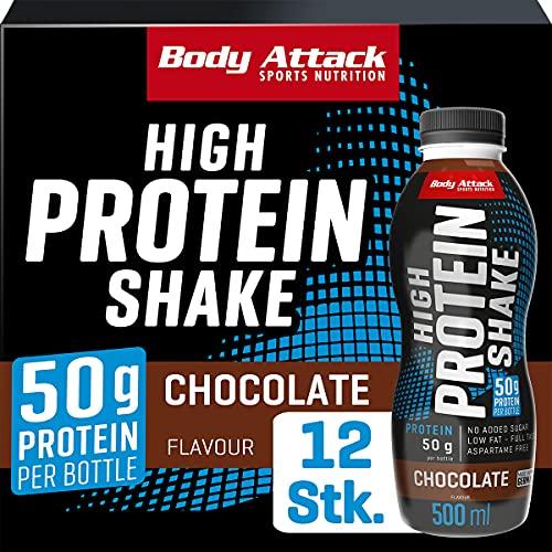 EMPFEHLUNG: High-Protein Drink von Body-Attack