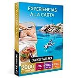 DAKOTABOX - Caja Regalo hombre mujer pareja idea de regalo - Experiencias a la carta - 2000 experiencias como tratamientos de bienestar, cenas de tapas y actividades de aventura