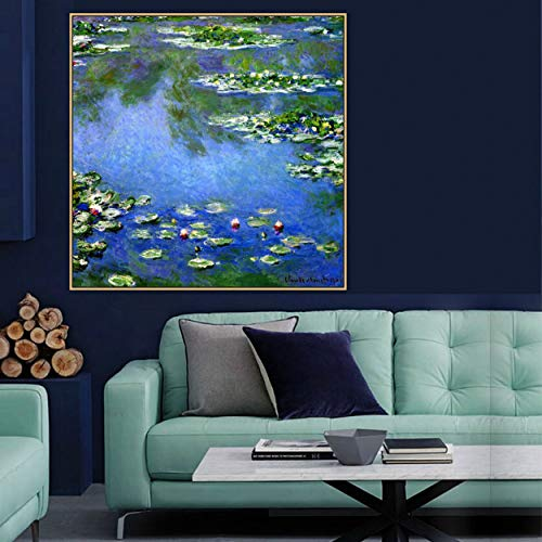 PLjVU Famous old impressionist painter original canvas painting prints wall hanging art decoration-Frameless50x50cm