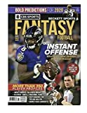 Beckett CBS Sports Fantasy NFL Football Magazine 2020 Draft Guide Lamar Jackson