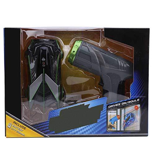 Vehículo de Coche RC, Sensor de luz de Seguimiento infrarrojo Coche de Carreras de Escalada en Las 4 Ruedas Coche de Carreras de Escalada con Control Remoto para niños Niños Niñas(Gris)