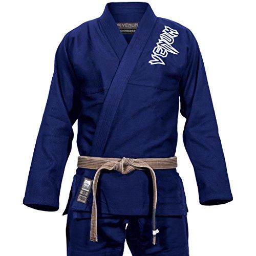 VENUM Contender 2.0 Kimono BJJ GI, Unisex Adulto, Azul Marino, A3